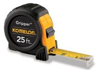 "KOMELON Tape Measure 25' X 1"" Gripper Acrylic Coated Steel Blade"