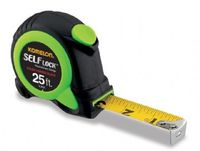 "KOMELON SL2825 TAPE MEASURE 25' X 1"" NYLON COATED STEEL BLADE SELF LOCK"
