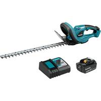 "MAKITA 18V LXT 4.0AH LITHIUM-ION 22"" HEDGE TRIMMER KIT WITH 1 BATTERY"
